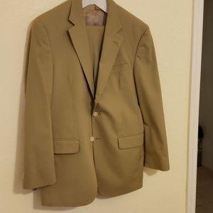 Khaki Men's  Jos A Bank suit